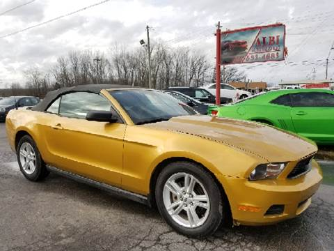 2010 Ford Mustang for sale at Albi Auto Sales LLC in Louisville KY