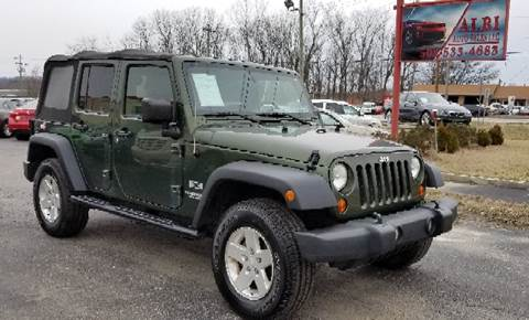 2009 Jeep Wrangler Unlimited for sale at Albi Auto Sales LLC in Louisville KY