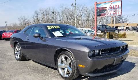 2014 Dodge Challenger for sale at Albi Auto Sales LLC in Louisville KY