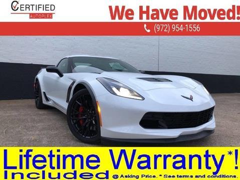 2016 Chevrolet Corvette for sale in Dallas, TX