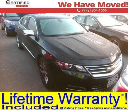 2018 Chevrolet Impala for sale in Dallas, TX