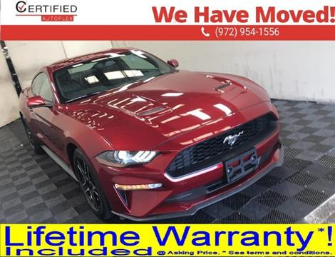 2019 Ford Mustang for sale in Dallas, TX