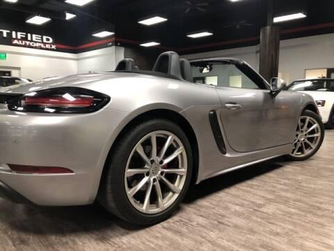 2017 Porsche 718 Boxster