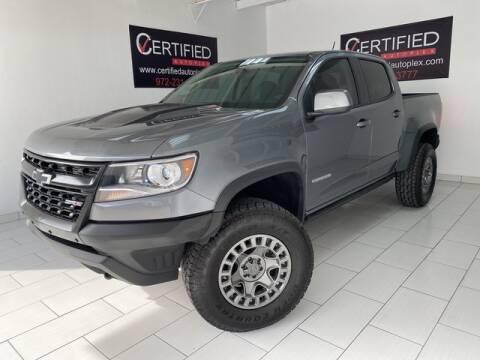 2019 Chevrolet Colorado ZR2 for sale at CERTIFIED AUTOPLEX INC in Dallas TX