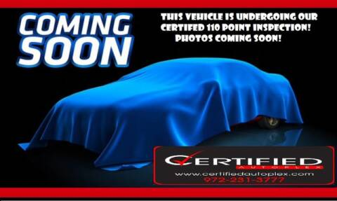 2018 Ford Explorer Limited for sale at CERTIFIED AUTOPLEX INC in Dallas TX