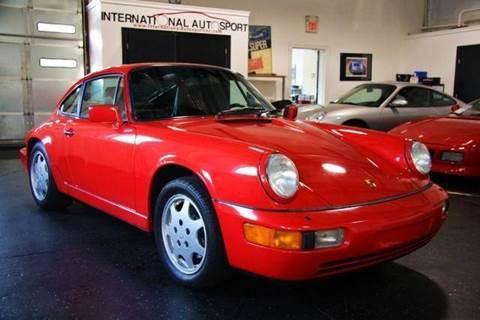 1989 Porsche 911 for sale at INTERNATIONAL AUTOSPORT INC in Pompton Lakes NJ