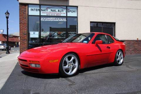 1988 Porsche 944 for sale at INTERNATIONAL AUTOSPORT INC in Pompton Lakes NJ