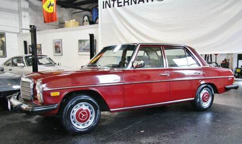 1976 Mercedes-Benz 230 for sale at INTERNATIONAL AUTOSPORT INC in Pompton Lakes NJ
