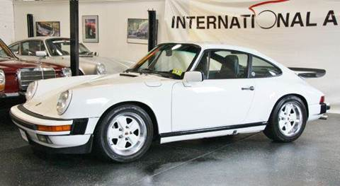 1988 Porsche 911 for sale at INTERNATIONAL AUTOSPORT INC in Pompton Lakes NJ