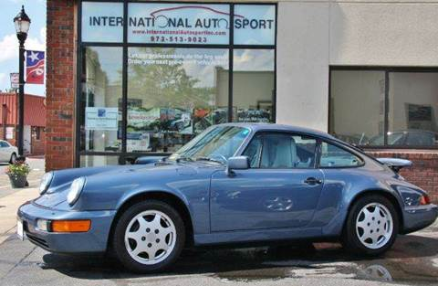 1990 Porsche 911 for sale at INTERNATIONAL AUTOSPORT INC in Pompton Lakes NJ