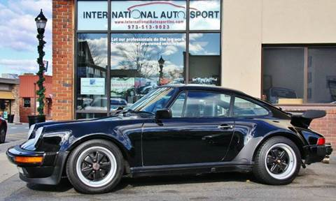 1987 Porsche 911 for sale at INTERNATIONAL AUTOSPORT INC in Pompton Lakes NJ