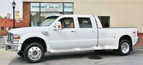 2008 Ford F-450 for sale at INTERNATIONAL AUTOSPORT INC in Pompton Lakes NJ
