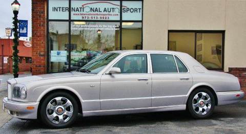 2003 Bentley Arnage for sale at INTERNATIONAL AUTOSPORT INC in Pompton Lakes NJ