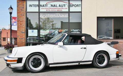 1983 Porsche 911 for sale at INTERNATIONAL AUTOSPORT INC in Pompton Lakes NJ