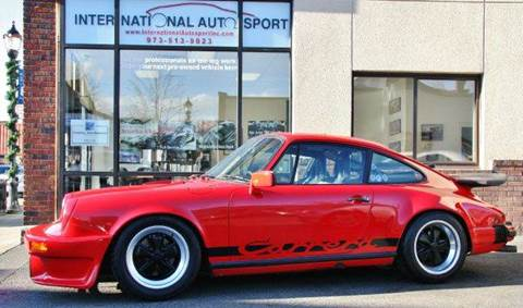 1984 Porsche 911 for sale at INTERNATIONAL AUTOSPORT INC in Pompton Lakes NJ