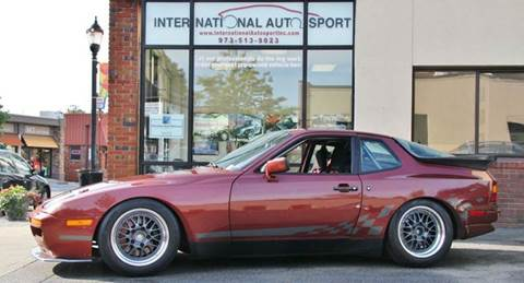1986 Porsche 944 for sale at INTERNATIONAL AUTOSPORT INC in Pompton Lakes NJ