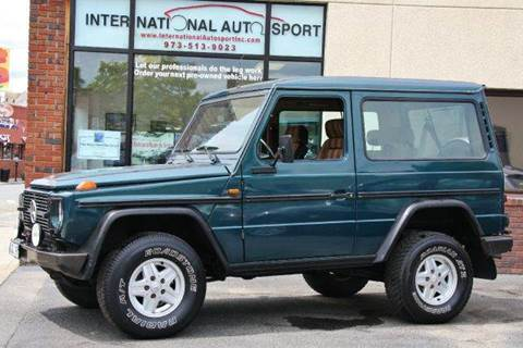 1987 Mercedes-Benz G-Class for sale at INTERNATIONAL AUTOSPORT INC in Pompton Lakes NJ