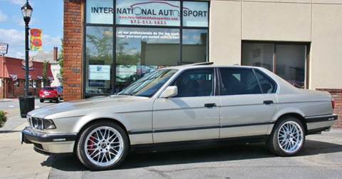 1990 BMW 7 Series for sale at INTERNATIONAL AUTOSPORT INC in Pompton Lakes NJ