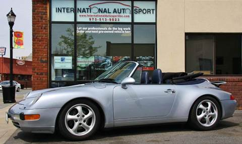 1996 Porsche 911 for sale at INTERNATIONAL AUTOSPORT INC in Pompton Lakes NJ