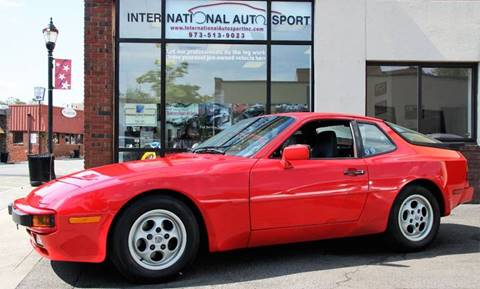 1987 Porsche 944 for sale at INTERNATIONAL AUTOSPORT INC in Pompton Lakes NJ