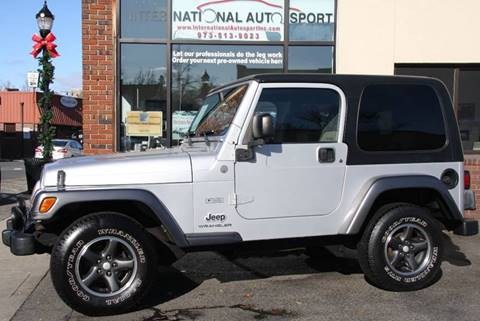 2004 Jeep Wrangler for sale in Pompton Lakes, NJ