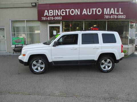2013 Jeep Patriot for sale at Abington Auto Mall LLC in Abington MA
