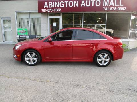 2014 Chevrolet Cruze for sale at Abington Auto Mall LLC in Abington MA