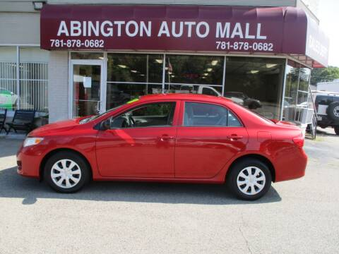 2010 Toyota Corolla for sale at Abington Auto Mall LLC in Abington MA