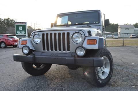 2001 Jeep Wrangler for sale in Alpharetta, GA