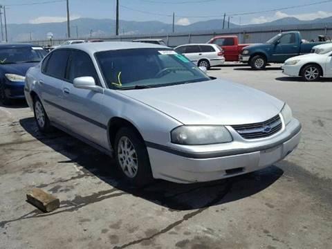 2003 Chevrolet Impala for sale in Salt Lake City, UT
