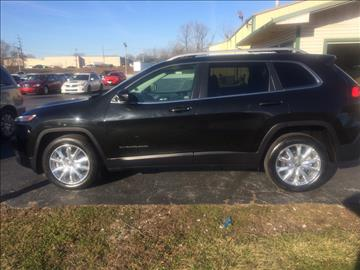 2016 Jeep Cherokee for sale in Shelbyville, IN