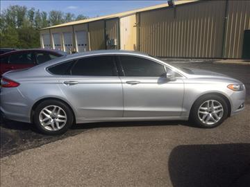 2014 Ford Fusion for sale in Shelbyville, IN