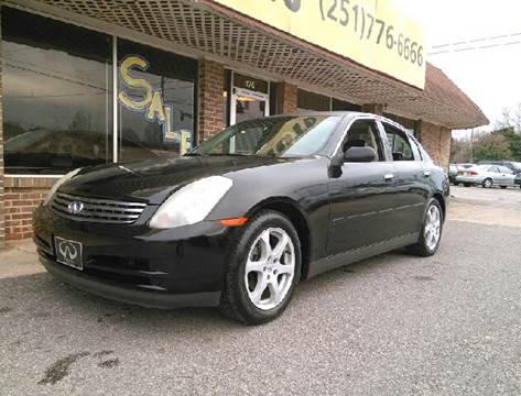 2003 Infiniti G35 for sale at Best Buy Autos in Mobile AL