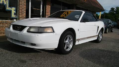 2002 Ford Mustang for sale at Best Buy Autos in Mobile AL