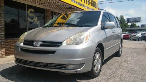 2005 Toyota Sienna for sale at Best Buy Autos in Mobile AL