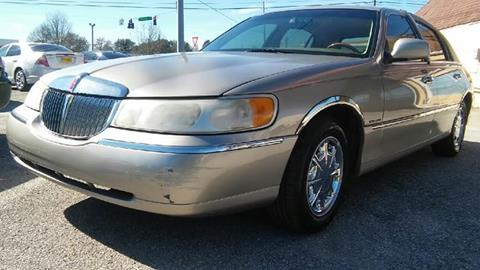 2000 Lincoln Town Car For Sale In Alabama Carsforsale Com