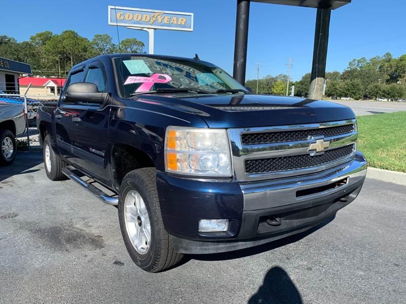 2010 Chevrolet Silverado 1500 Crew Cab >> 2010 Chevrolet Silverado 1500 4x4 Lt 4dr Crew Cab 5 8 Ft Sb