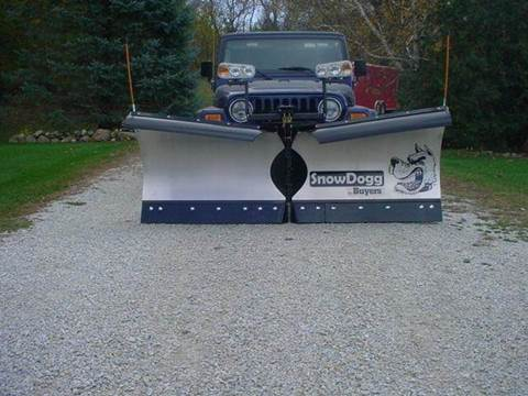 2020 Snowdogg snow plow VMD-75G2 for sale at ROB'S AUTO SALES in Ridgeway IA