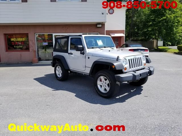 2012 Jeep Wrangler for sale at Quickway Auto Sales in Hackettstown NJ