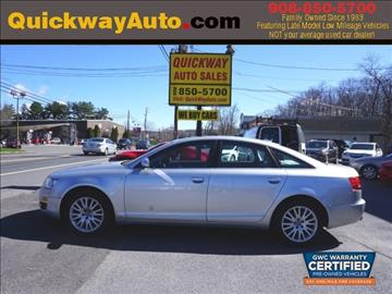2006 Audi A6 for sale at Quickway Auto Sales in Hackettstown NJ