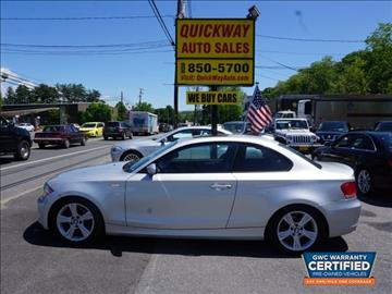 2009 BMW 1 Series for sale at Quickway Auto Sales in Hackettstown NJ
