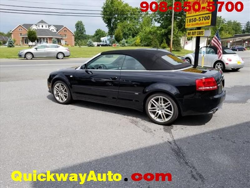 2009 Audi A4 for sale at Quickway Auto Sales in Hackettstown NJ