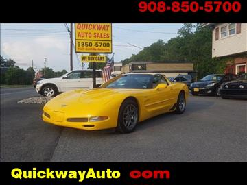 2003 Chevrolet Corvette for sale at Quickway Auto Sales in Hackettstown NJ