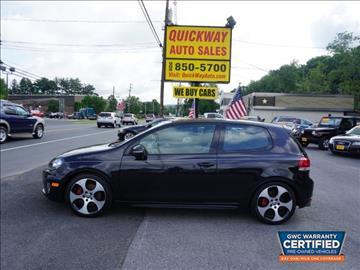 2011 Volkswagen GTI for sale at Quickway Auto Sales in Hackettstown NJ