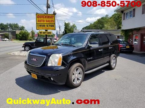 2007 GMC Yukon for sale at Quickway Auto Sales in Hackettstown NJ