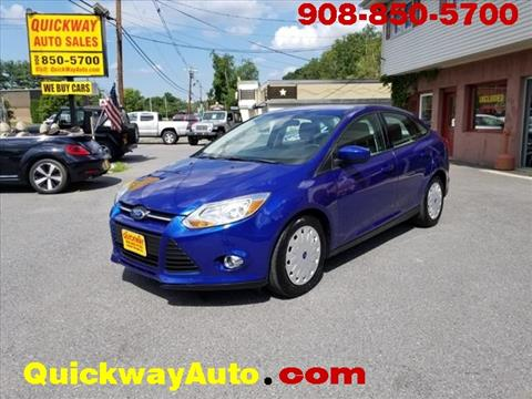 2012 Ford Focus for sale at Quickway Auto Sales in Hackettstown NJ