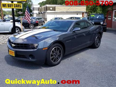 2010 Chevrolet Camaro for sale at Quickway Auto Sales in Hackettstown NJ