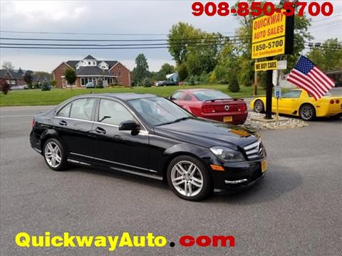 2013 Mercedes-Benz C-Class for sale at Quickway Auto Sales in Hackettstown NJ