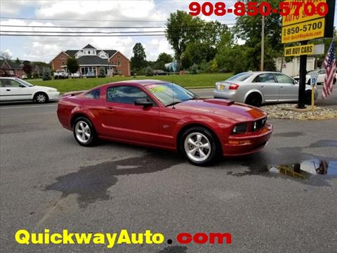 2008 Ford Mustang for sale at Quickway Auto Sales in Hackettstown NJ