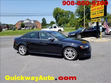 2014 Audi S4 for sale at Quickway Auto Sales in Hackettstown NJ